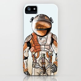 Marte the martian iPhone Case