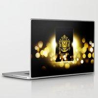 logo Laptop & iPad Skins featuring Logo by Azeez Olayinka Gloriousclick