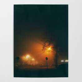 A Foggy Night Poster