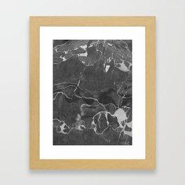 Grey Shadows Framed Art Print