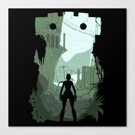 Lara Croft Canvas Print