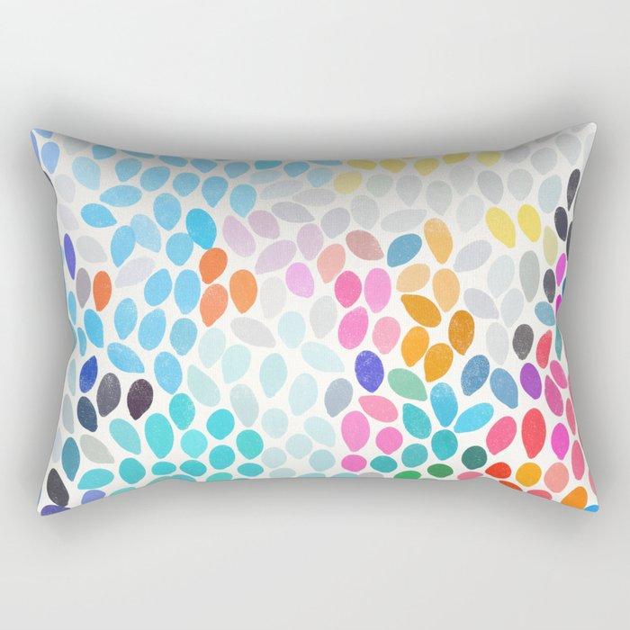 rain 9 Rectangular Pillow