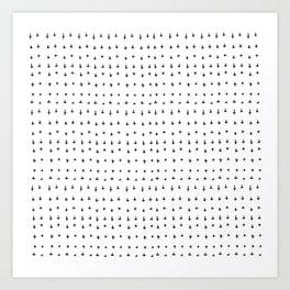 Minimal Pattern :: Plus Art Print
