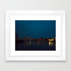 Goodnight, Cleveland  Framed Art Print