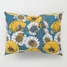 The meadow in yellow and blue Pillow Sham
