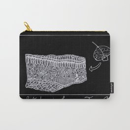 Cross-Sectional of a Leaf Carry-All Pouch