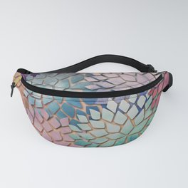Abstract Floral Petals 4 Fanny Pack