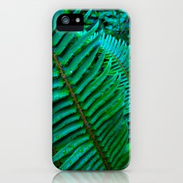 Flowing Ferns iPhone Case