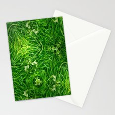 The Mystery Of The Grass Stationery Cards