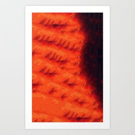 Once In Flames Art Print