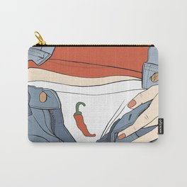 Cheeky Chilli Carry-All Pouch