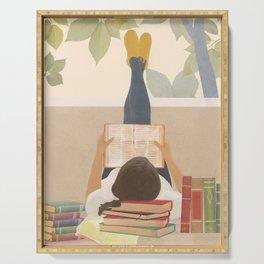 Bookworm Serving Tray