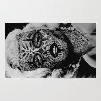 monroe Area & Throw Rugs featuring Monroe by mothafuc