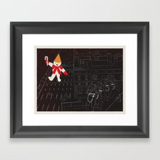 Who Ya Gonna Call? Framed Art Print