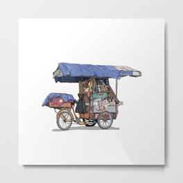 Carrito Metal Print