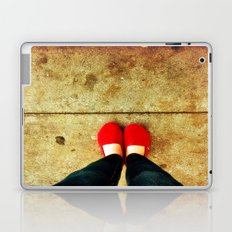 Bright Red Shoes Laptop & iPad Skin