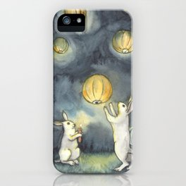 Sky Lanterns iPhone Case
