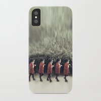 army iPhone & iPod Cases featuring Baby army by josemanuelerre