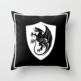 Way of the Dragon Throw Pillow