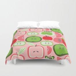 Retro Apples Duvet Cover
