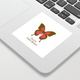 Ulysses Butterfly 8 Sticker