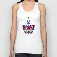 lotus flower Tank Tops featuring Lotus by Spooky Dooky