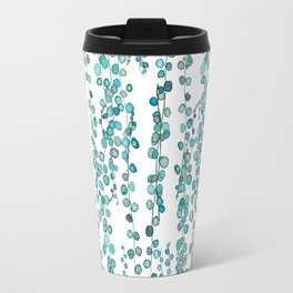 string of pearl watercolor Travel Mug