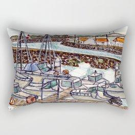 The Harbour 2, Figueira Da Foz, Portugal Rectangular Pillow