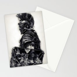 Portrait of a Roman Legionary Stationery Cards