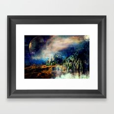 Cosmic Xanadu Framed Art Print