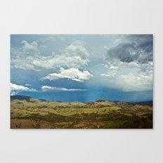 Beams Canvas Print