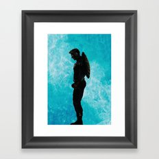 The Super Soldier Framed Art Print
