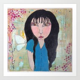 Love Fairy Art Print