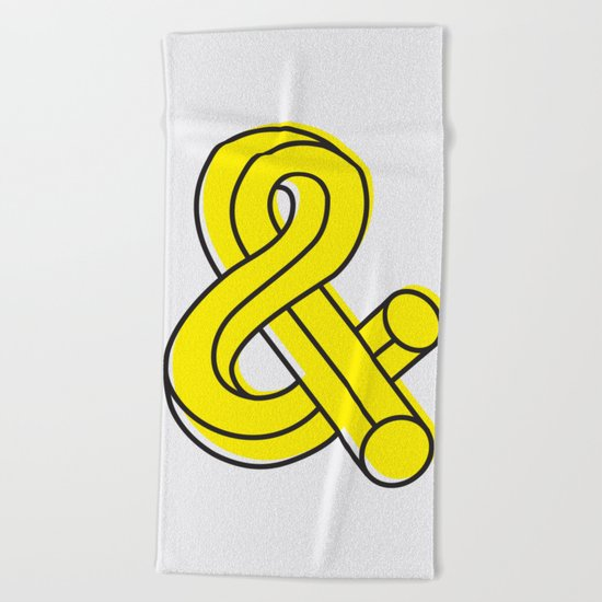Ampersand Beach Towel