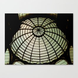 Postcards from Italy: Galería Umberto I Canvas Print