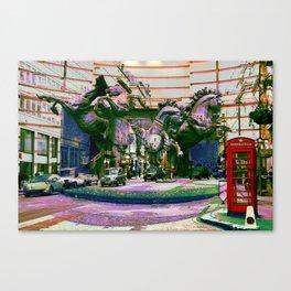 London III - The Four Horses of Helios Canvas Print