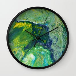 002 - Angels in the Sea Wall Clock