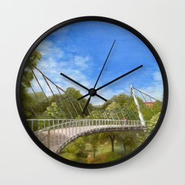 The Liberty Bridge Wall Clock