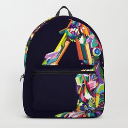 Transformer in pop art Backpack