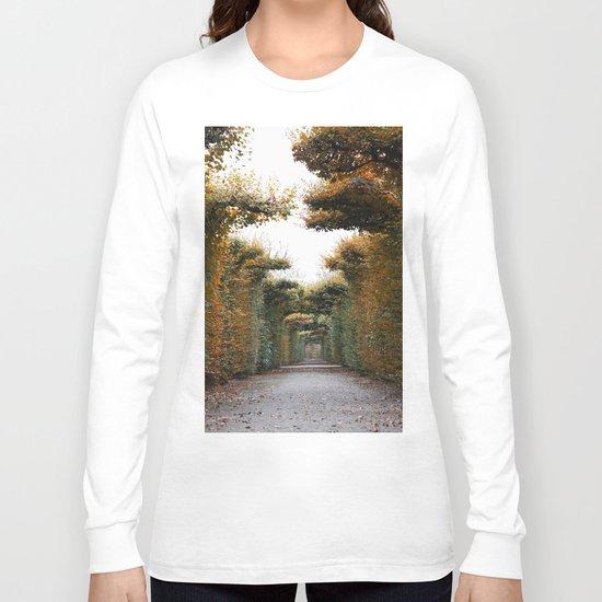 Autumn in park Long Sleeve T-shirt