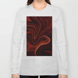 Liquefy Pattern Long Sleeve T-shirt