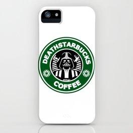 Deathstarbucks Coffee iPhone Case