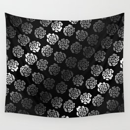 Roses pattern VII Wall Tapestry
