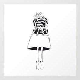 Mrs Starfish Art Print