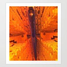 Sonen Narrows Art Print
