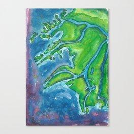 Heartwater Delta Canvas Print