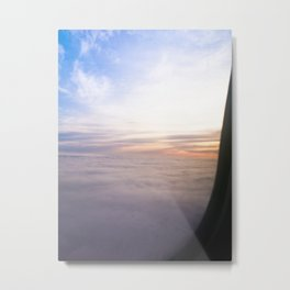 View from the Sky Metal Print