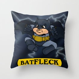 Batfleck Throw Pillow