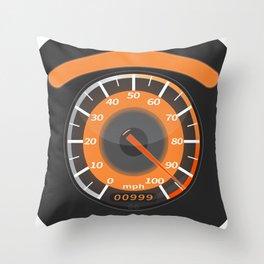 fast eye Throw Pillow