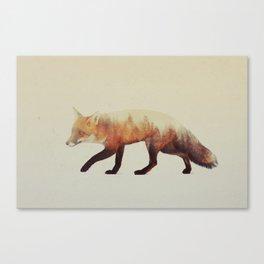 Red Fox (Veluwe V3) Canvas Print